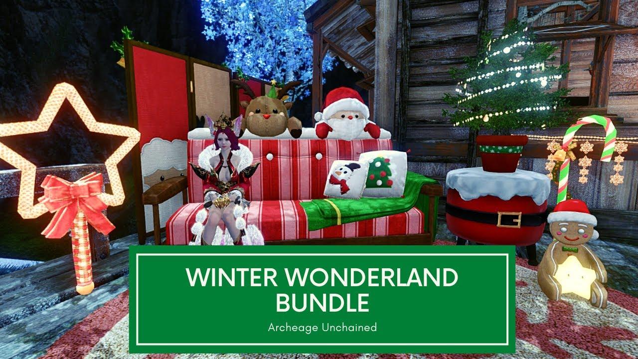 Winter Wonderland Furniture Bundle   Archeage Unchained