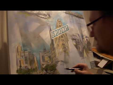 "Frank Grabowski Genesis Fan-Art ""The Lamb lies down on Broadway"""
