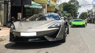 Vất vả vận chuyển Lamborghini Huracan và McLaren 570S | XSX