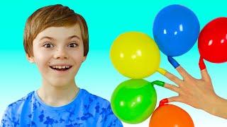 Magic balloons | 동요와 어린이 노래 Polina Fun