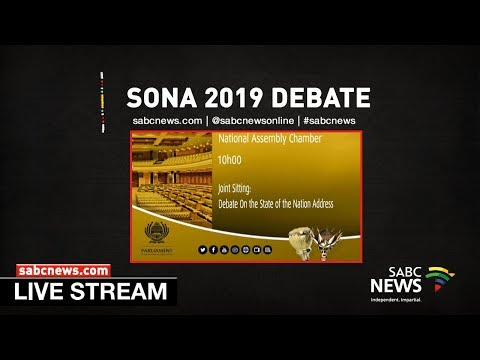 Debate on President's State-of-the-nation Address