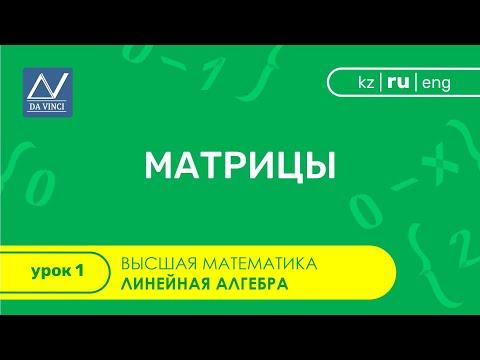 Матрица математика видеоуроки