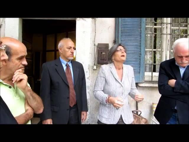 La vicesindaco Ada Lucia De Cesaris alla Cascina Campazzo
