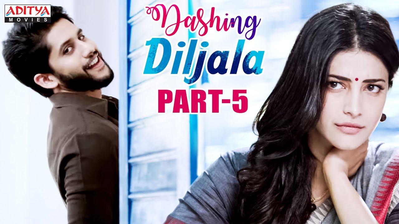 Download Dashing Diljala Hindi Dubbed Movie Part 5   Naga Chaitanya, Shruti Hassan, Anupama