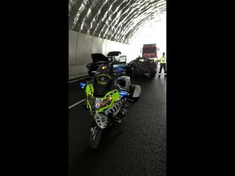 Accidente en el túnel de Montealegre