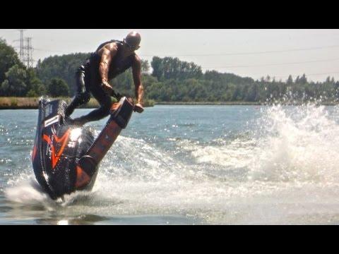 Jetski Yamaha Superjet . Old school tricks & fun. Part 4