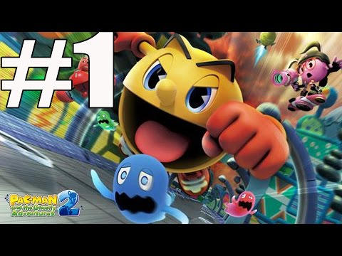 Pac-Man And The Ghostly Adventures 2 Walkthrough Part 1 No Commentary
