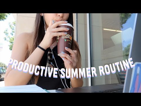SUMMER ROUTINE | Stanford CS update, internship apps, gym