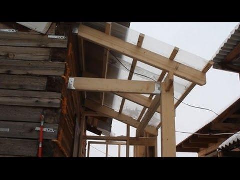 Строительство крыльца Часть 1