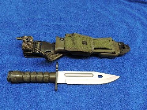 Buck Knives 188 - M9 Bayonet - Retro Knives