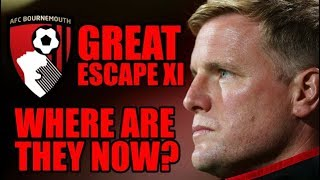 Bournemouth's 2009 'Great Escape' XI: Where Are They Now?