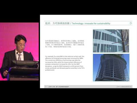 "CTBUH 2014 Shanghai Conference - Jianping Gu, ""Shanghai Tower: Building a Green, Vertical City"""