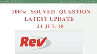 Rev Transcription Test Answer Boeing