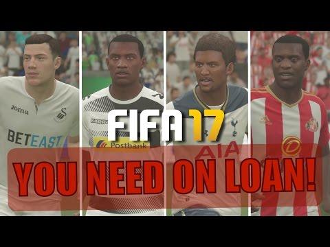 25 AMAZING PLAYERS YOU NEED ON LOAN | FIFA 17 Career Mode