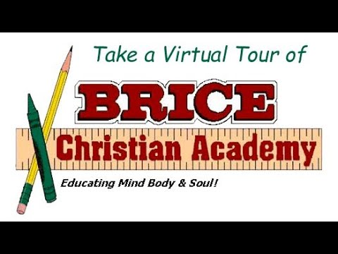 Virtual Tour of Brice Christian Academy BCA.  We are a K-8th grade School eastside of Columbus Ohio.