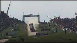 WRC Rally de Portugal - Power Stage Fafe - Acidente de Quentin Gilbert