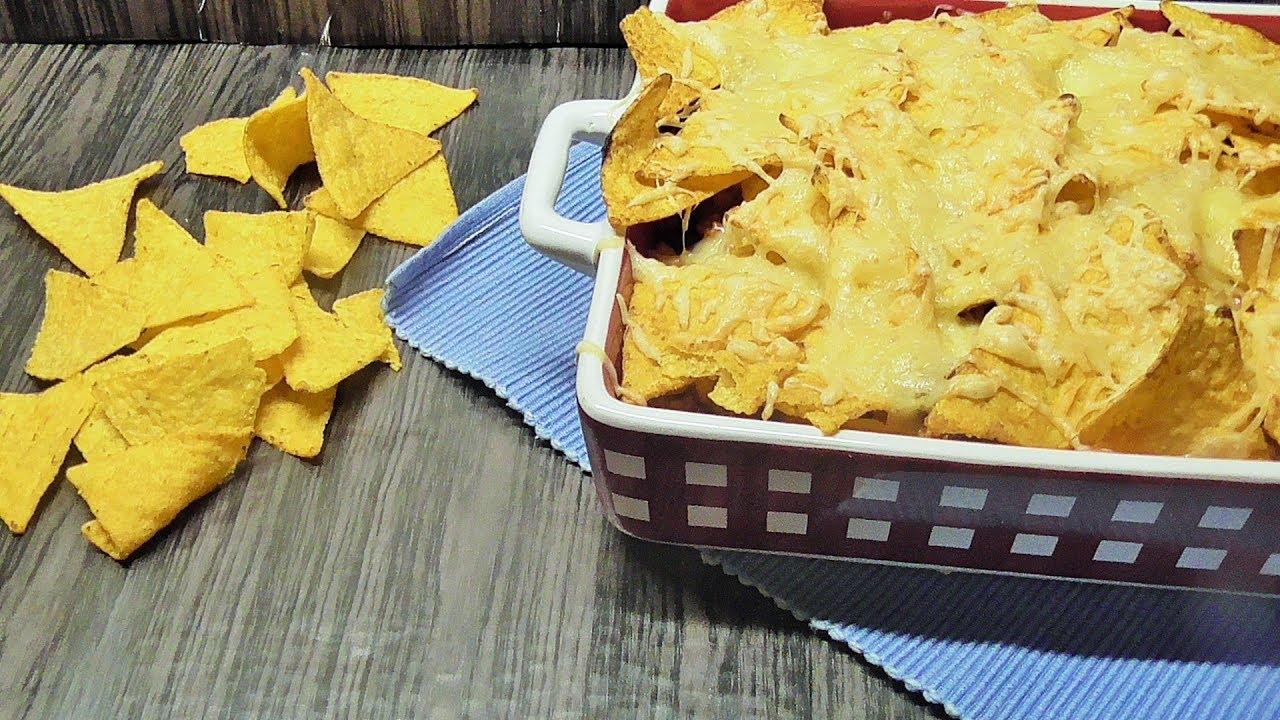 Zapiekane chipsy tortilla Nachos /Kasia ze slaska gotuje