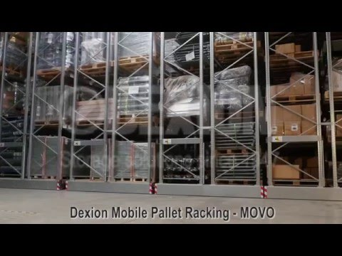 Dexion MOVO Mobile Pallet Racking