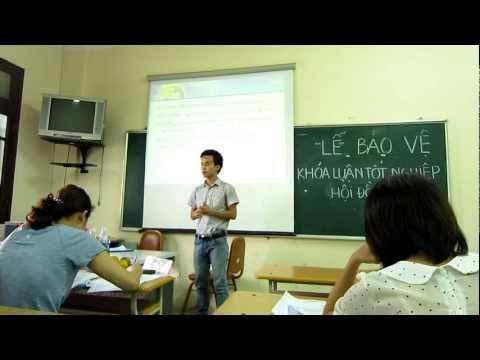 Bảo vệ Khoá luận Tốt nghiệp tại ĐH Ngoại Ngữ - ĐHQG Hà Nội (P.1) (Full HD)
