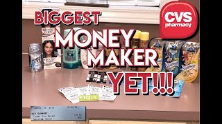 $50 Money Maker?! Is it even Real? YES!!! // EPIC CVS In Store Couponing // 4-9