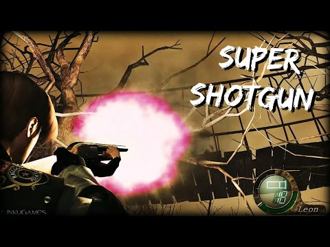 SUPER SHOTGUN | Awesome Weapon! | Resident Evil 4 UHD