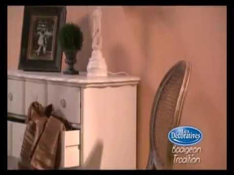 les decoratives badigeon youtube. Black Bedroom Furniture Sets. Home Design Ideas