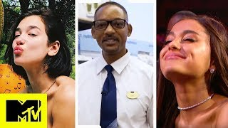 Ariana's Need For Glasses, Will Smith Working At Boots & WEDDINGS! | MTV News Round Up