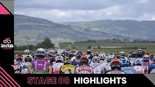 Giro d'Italia 2021 | Stage 8 | Highlights