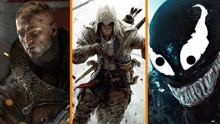 Wolfenstein 3 Is Being Made + Assassin's Creed III Remaster On The Way! + Venom Is Officially PG-13