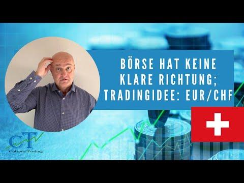 Gerüchte Um Chinesische Unternehmen, EUR/CHF Trades Interessant- Colzone's Ausblick 30.09.2019