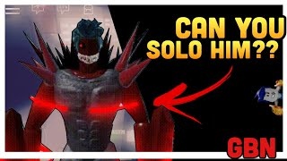 GBN Soloing Amon Boss! Ghouls Bloody Nights | theAnthem Roblox
