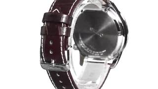 Seiko Men's SSC227 Stainless Steel Solar Watch with Brown Leather Band 2(, 2015-07-07T21:25:10.000Z)