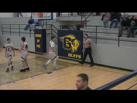 Burlington Middle School Boys Basketball vs. Greybull 2019