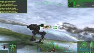 MechWarrior 4 Mercenaries with MekTek mod gameplay 01