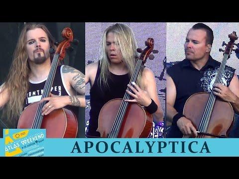 Apocalyptica. Фестиваль Atlas Weekend. Киев, ВДНХ,  08.07.2016.