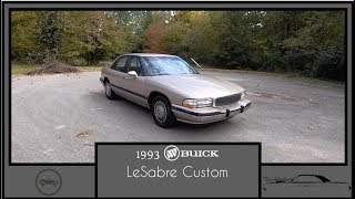 1993 Buick LeSabre Custom|Walk Around Video|In Depth Review|Test Drive