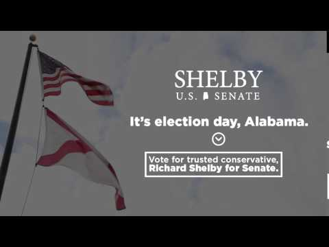 Vote for Trusted Conservative Richard Shelby for U.S. Senate