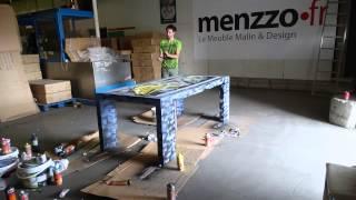 Selor Graffe La Table Console Extensible Menzzo.fr #hsa