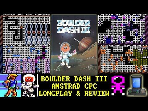 [AMSTRAD CPC] Boulder Dash III - Longplay & Review