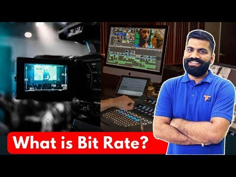 What is Bit Rate? Video Quality and File Size? Explained