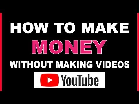 ($46,630) EARNING MONEY ON YOUTUBE WITHOUT RECORDING / MAKING VIDEOS 2020 (make money online)
