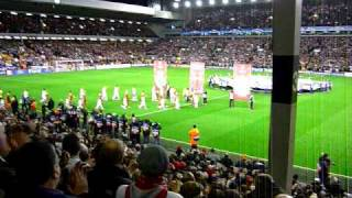 Anfield - Liverpool FC and Real Madrid 3-10-09