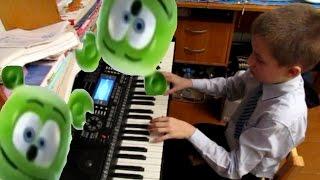 Download Gummy Bear Мишка Гумми Бер пианино kb-930 Mp3 and Videos