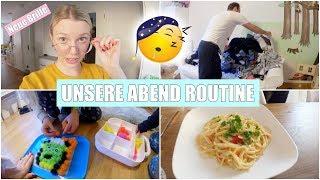 Unsere Abendroutine mit 3 Kindern | Kochen & Wäscheberge | Isabeau
