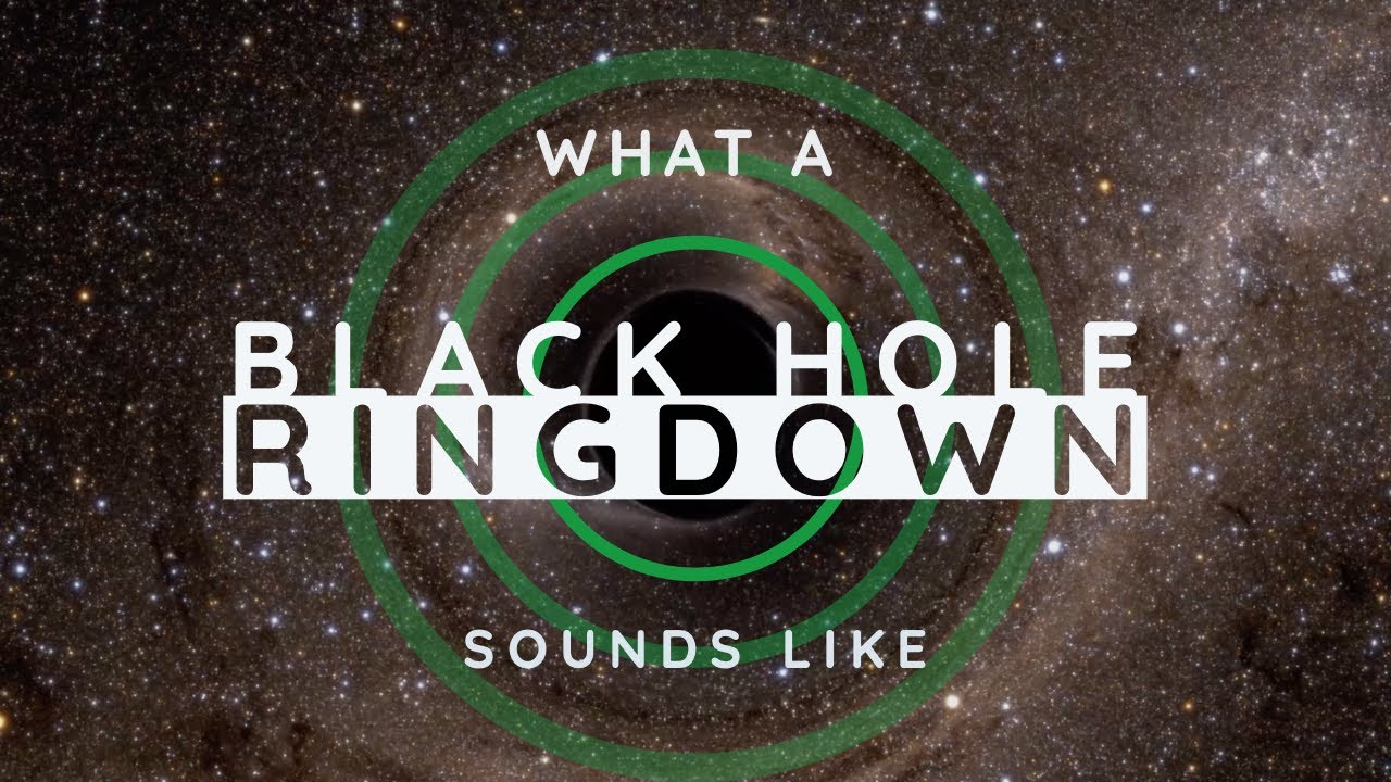 Listen: Black Hole 'Rings' After Being Born (World Exclusive)