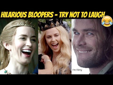 The Huntsman: Winter's War Bloopers & Gag Reel Ft. Chris Hemsworth, Charlize Theron & Emily Blunt