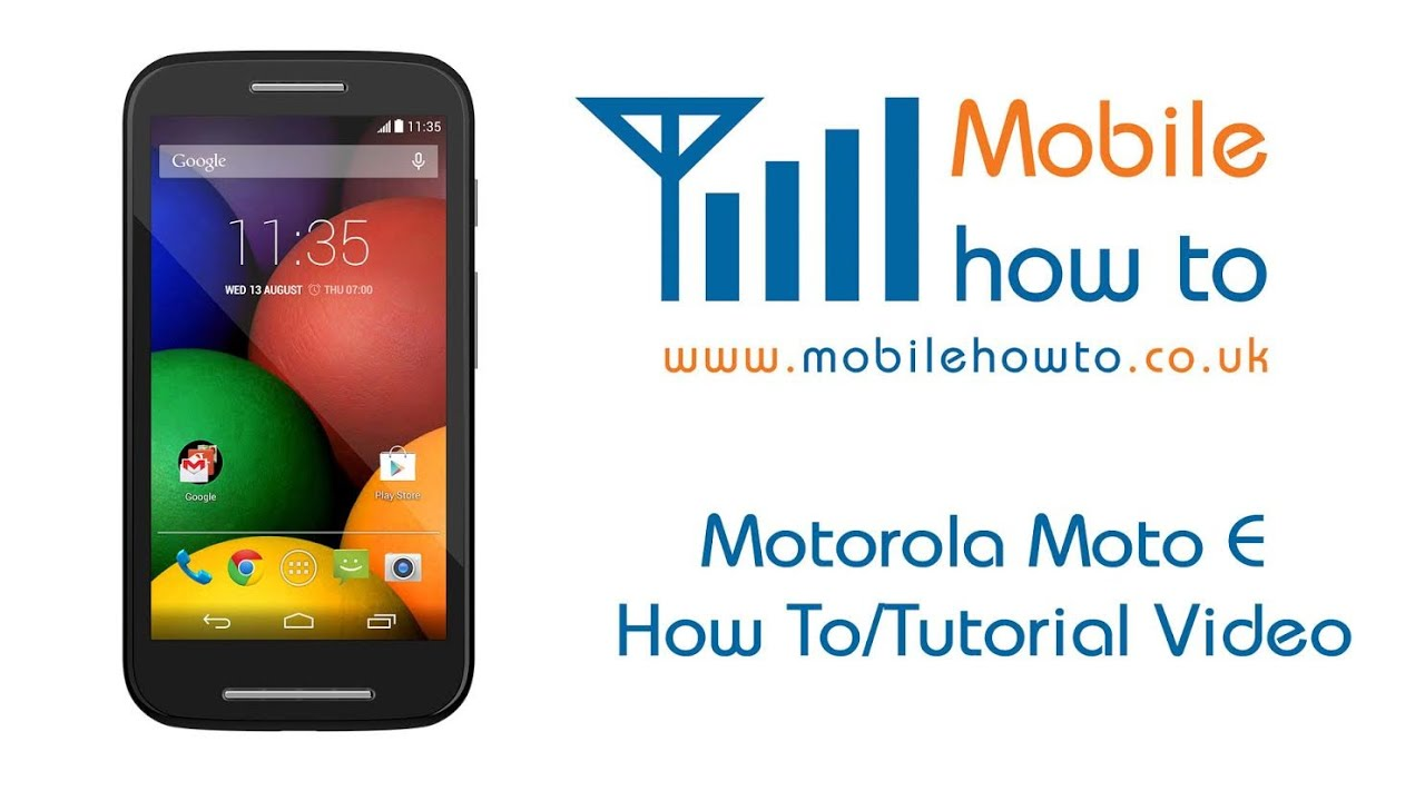 How To Force Restart/Fixed Crashed/Frozen - Motorola Moto E