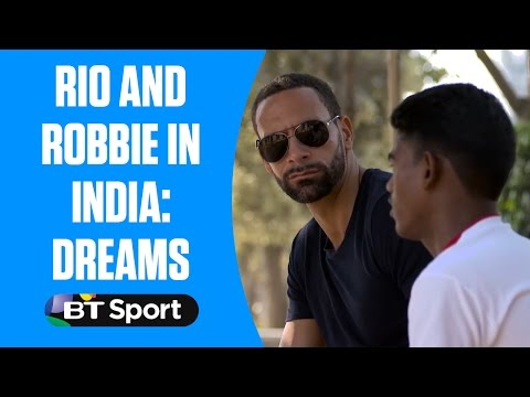 Rio and Robbie in India: Premier League dreams