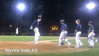 Copeland strikes out 11 in Skyview's 6-2 win over Camas