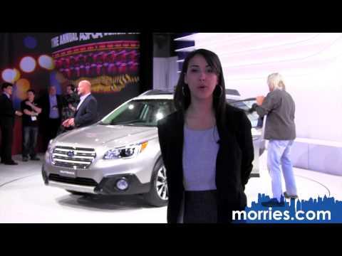 2015 Subaru Outback | 2014 New York Auto Show | Morrie's Subaru
